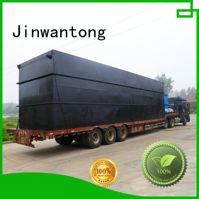 Jinwantong stable sewage treatment plant design with good price for oilfield labor camp