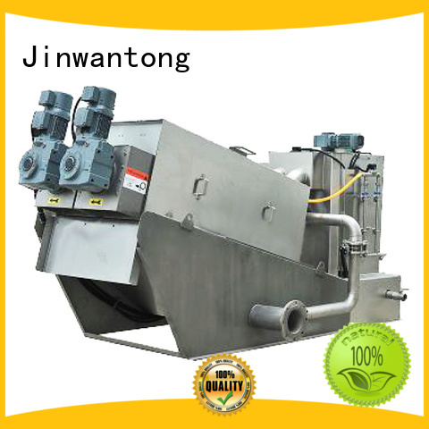 Jinwantong efficient sludge dewatering machine supplier for solid-liquid separation