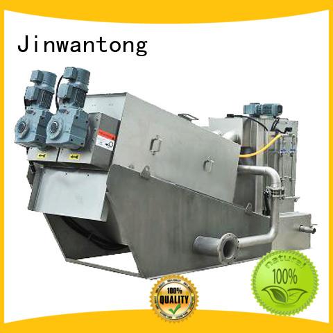 Jinwantong efficient sludge dewatering machine supplier for solid-liquid separation