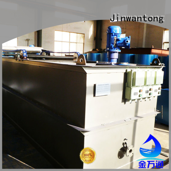 Jinwantong professional industrial wastewater treatment equipment with good price for polishing of biological treatment effluent