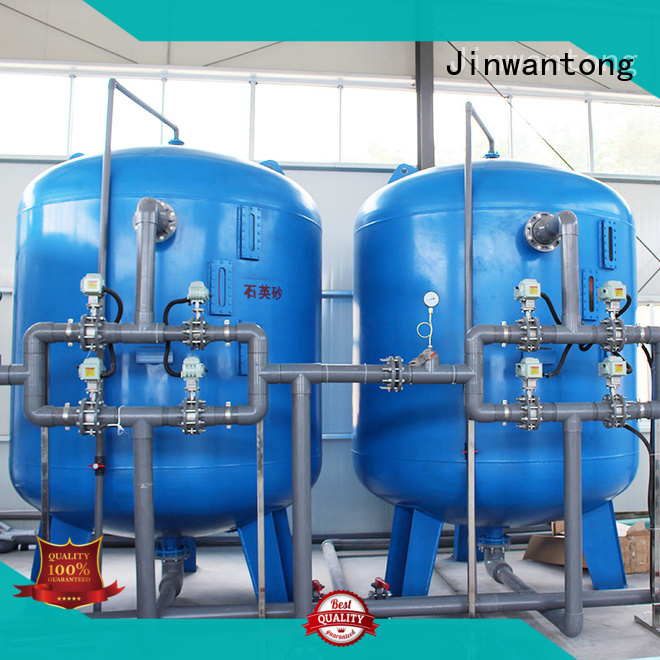 Jinwantong high effecient sand filter design customized for grit removal