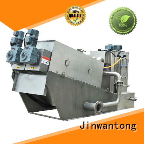 Jinwantong sludge dewatering from China for wineries