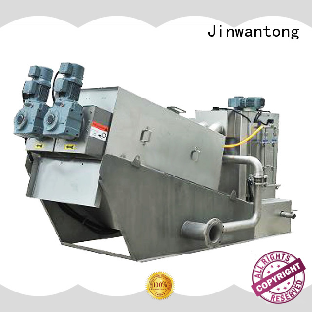 Jinwantong sludge dehydrator from China for wineries
