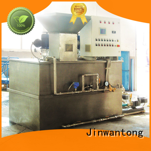 professional chemical dosing factory for powdered and liquid chemicals