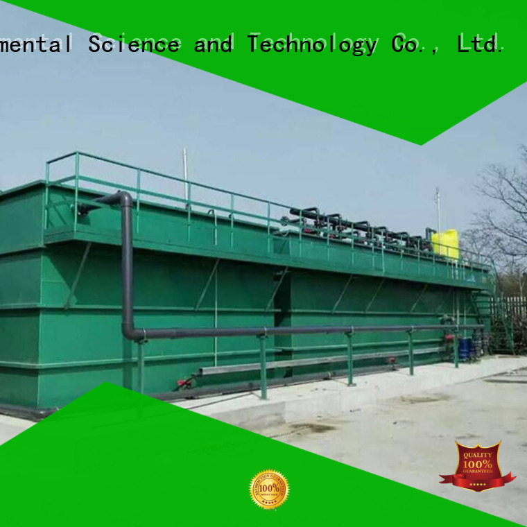 Jinwantong industrial wastewater treatment plant customized for paper industry