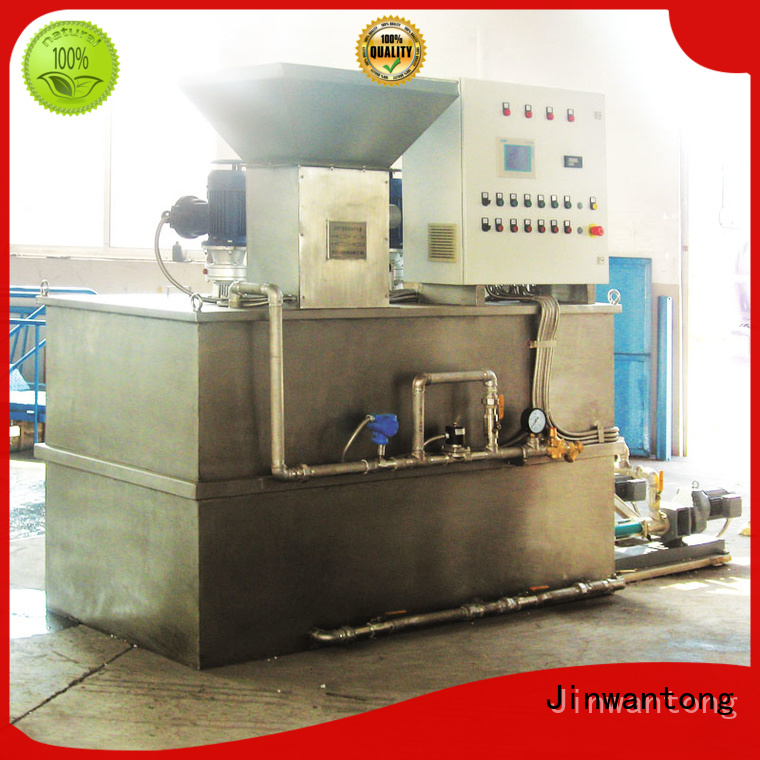 Jinwantong flocculant dosing system series for mix water and chemicals