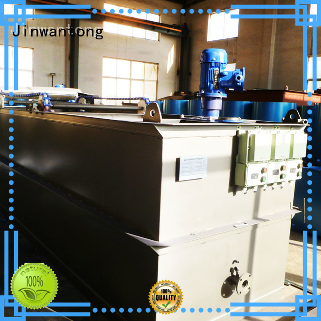 Jinwantong low cost Wastewater Treatment Plant Equipment series for product recovery