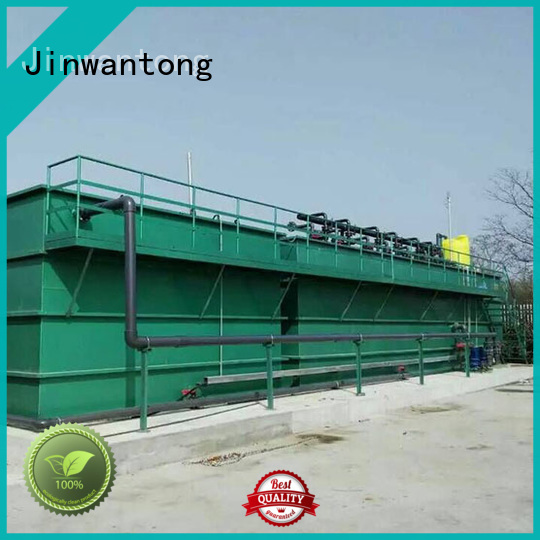 Jinwantong efficient waste water treatment plant wholesale for food industry