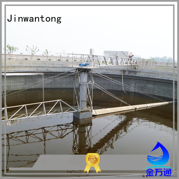 Jinwantong clarifier scraper customized for primary clarifier