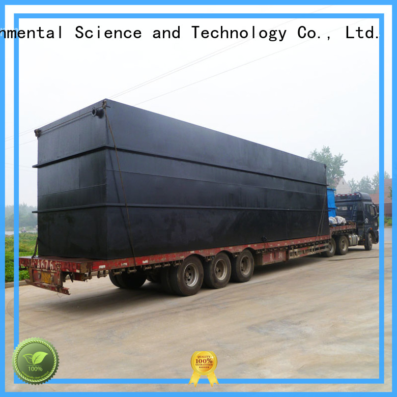 Jinwantong sewage treatment with good price for hospital