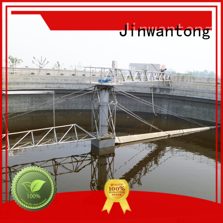 Jinwantong peripheral drive sludge scraper supplier for final sedimentation tank