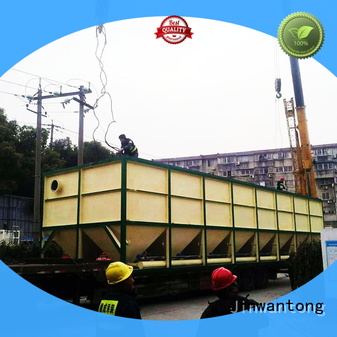 Jinwantong lamella clarifier directly sale for food industry