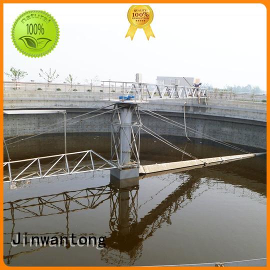 Jinwantong sludge scraper customized for final sedimentation tank
