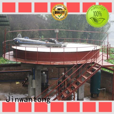 Jinwantong circular daf clarifier supplier for tanneries