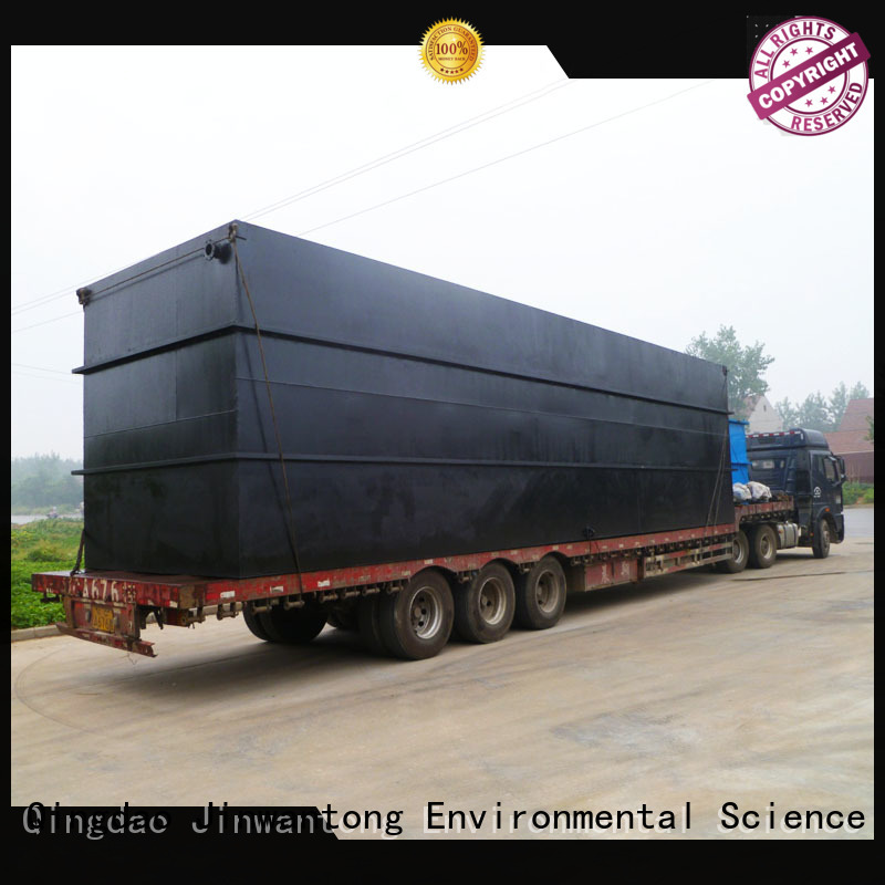 professional sewage treatment factory for hospital