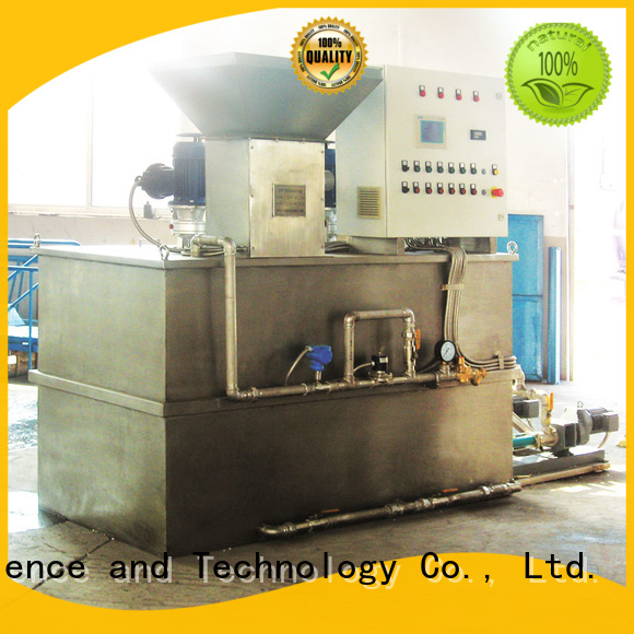 Jinwantong flocculant dosing system factory for powdered and liquid chemicals
