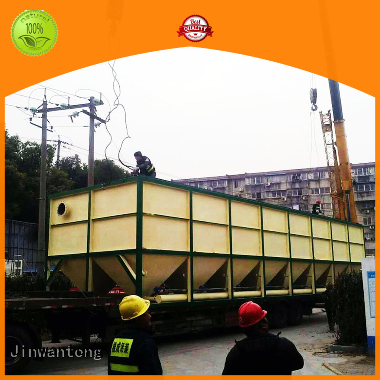 Jinwantong long lasting inclined plate clarifier design for chemical waste water