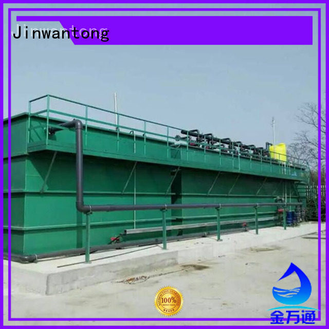 Jinwantong excellent industrial wastewater treatment customized forpharmaceutical industry