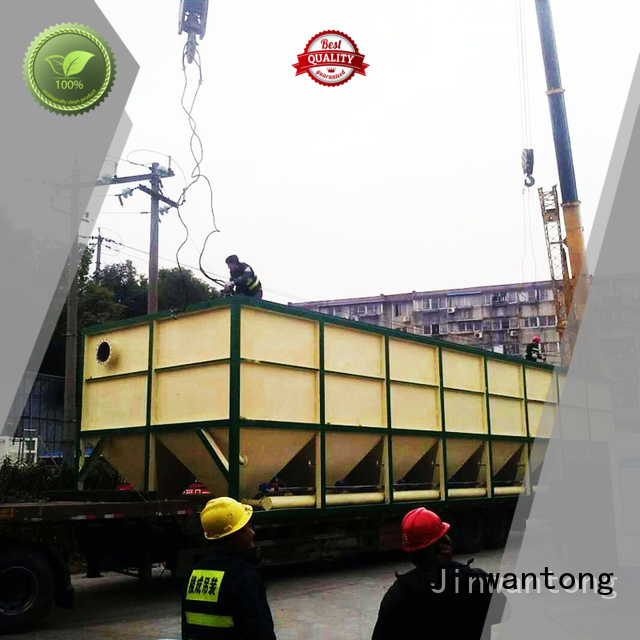 Jinwantong durable lamella clarifier design customized for heavy metal remove