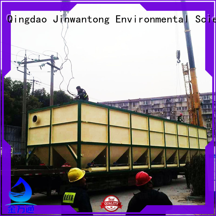 Jinwantong inclined plate clarifier factory price for food industry