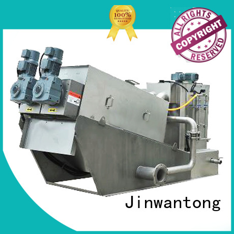 Jinwantong low cost dewatering machine for sludge treatment for solid-liquid separation