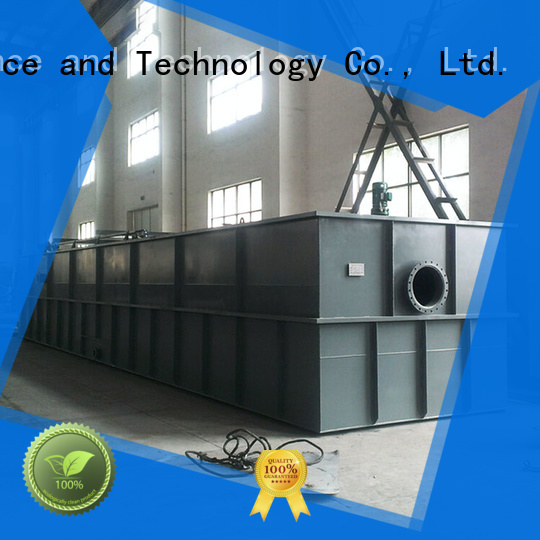 Jinwantong high effecient daf system wastewater treatment directly sale for slaughterhouse