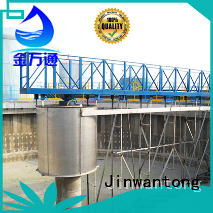 high strength sludge scraper customized for primary clarifier