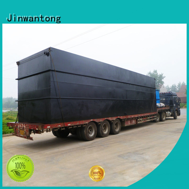 Jinwantong professional best domestic sewage treatment plant with good price for hotel