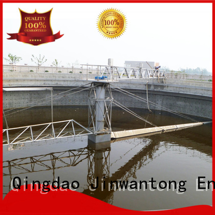 Jinwantong light weight central drive sludge scraper customized for final sedimentation tank