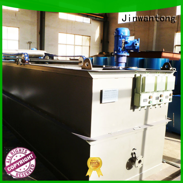 Jinwantong caf flotation equipment with good price for polishing of biological treatment effluent