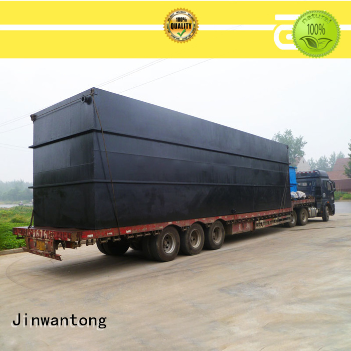 Jinwantong convenient package sewage treatment plant series for residential quarter