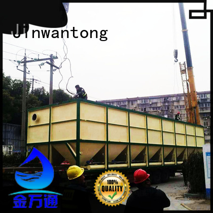 Jinwantong lamella plate clarifier from China for chemical waste water