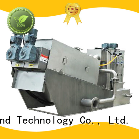 low cost sludge dewatering supplier for wineries