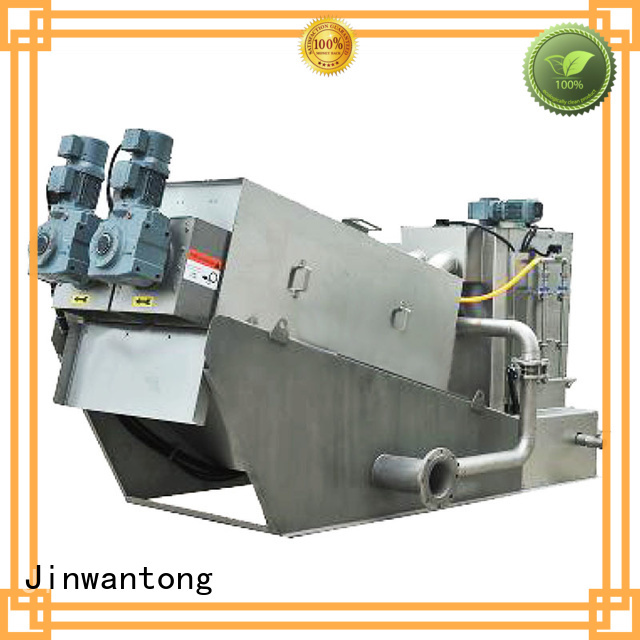 Jinwantong sludge dewatering equipment wastewater supplier for resource recovery