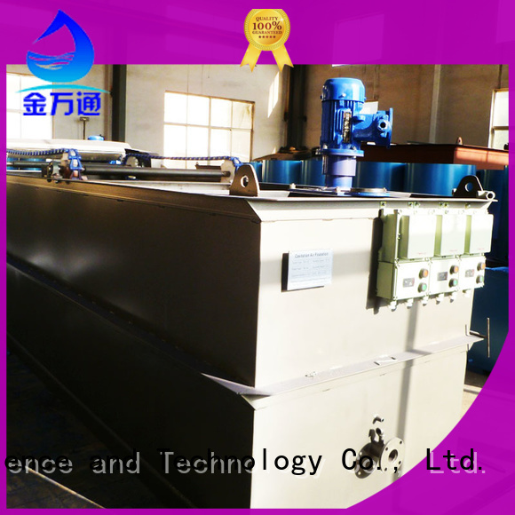 Jinwantong Wastewater Treatment Plant Equipment factory for product recovery