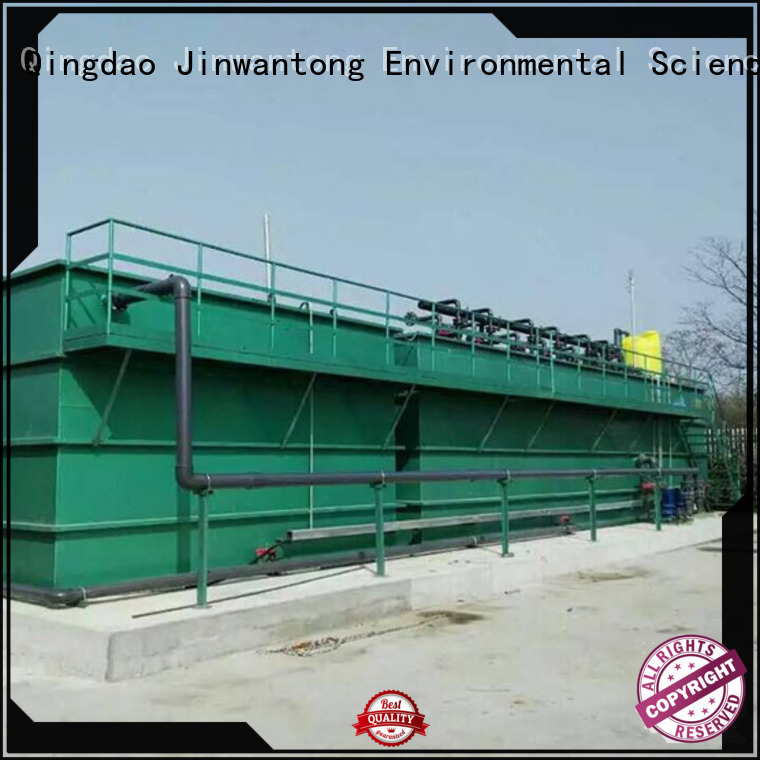 stable types of wastewater treatment plants customized for mining industry