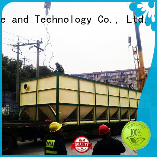 Jinwantong inclined plate clarifier customized for food industry