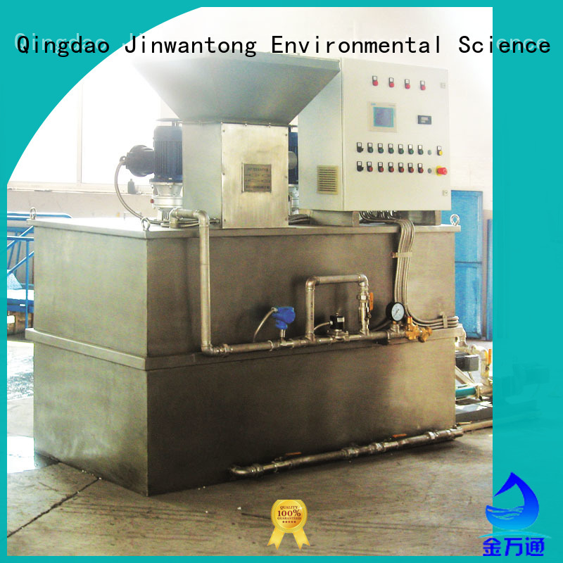 Jinwantong chemical dosing system design wholesale for mix water and chemicals