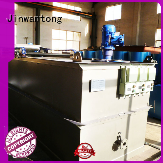 Jinwantong top wastewater treatment companies factory for oil remove