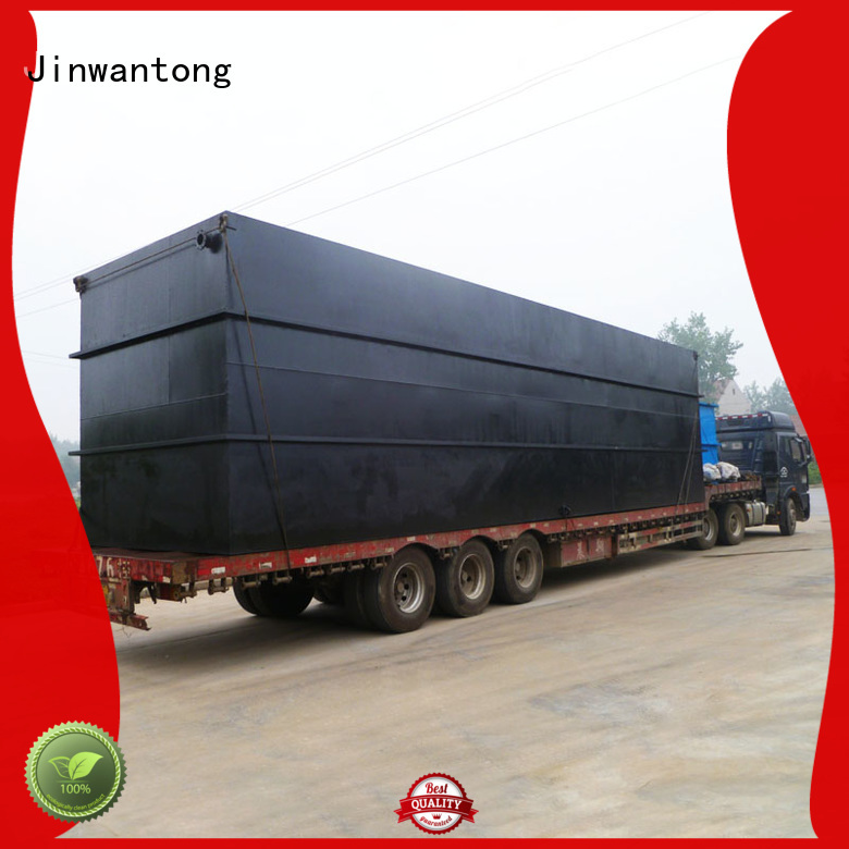 Jinwantong stable effluent treatment plant wholesale for hospital