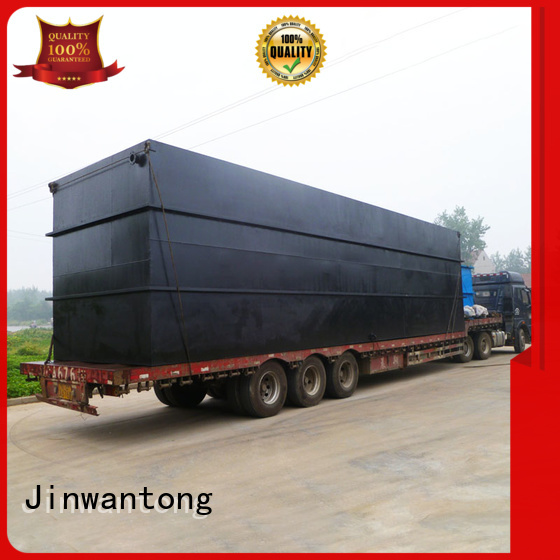 Jinwantong package sewage treatment plant with good price for oilfield labor camp