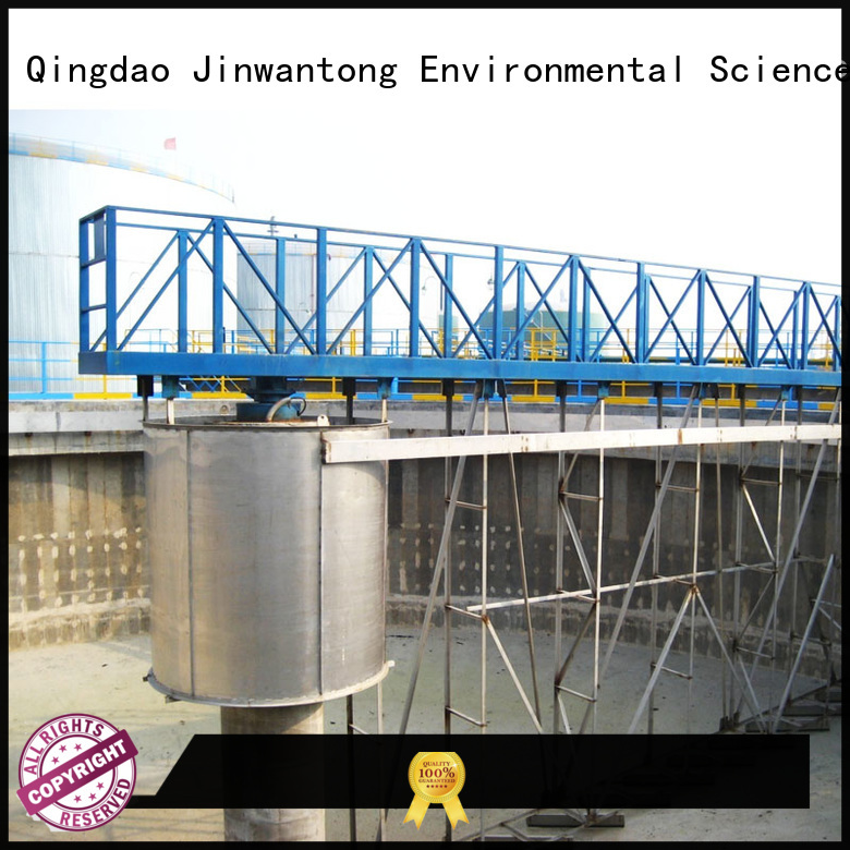 Jinwantong high strength bottom sludge scraper with good price for final sedimentation tank