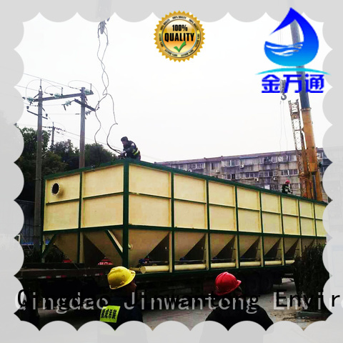 Jinwantong efficient lamella clarifier design factory price for food industry