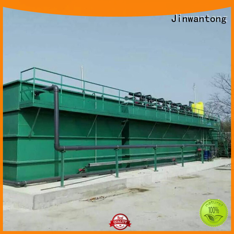 professional types of wastewater treatment plants with good price for paper industry