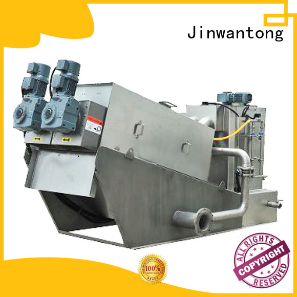 Jinwantong low cost sludge dewatering supplier for resource recovery