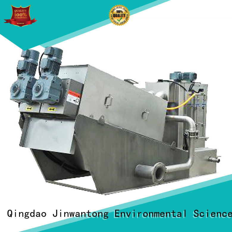 Jinwantong professional sludge dehydrator system supplier for resource recovery