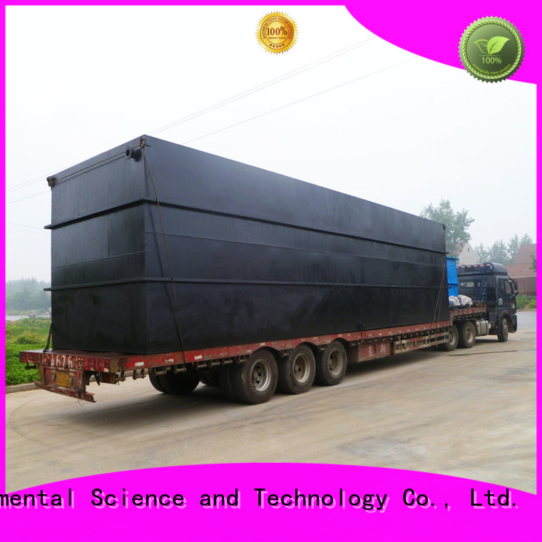 Jinwantong package sewage treatment plant with good price for hospital