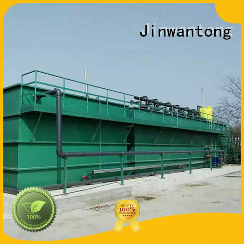 Jinwantong best waste water treatment plant supply for food industry