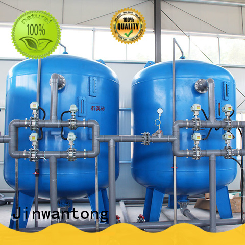 Jinwantong low cost sand filter tank directly sale for alga removal
