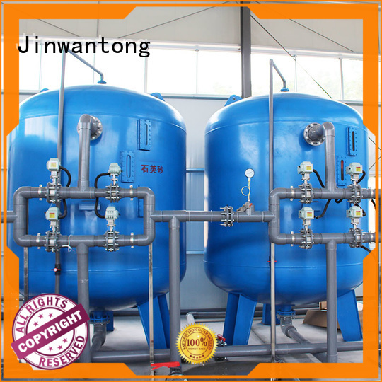Jinwantong reliable pressure sand filter customized for ground water purification